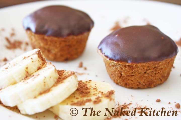 Chocolate Covered Banana Cupcakes
