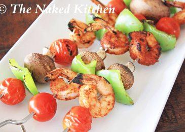 Cajun Shrimp Skewers