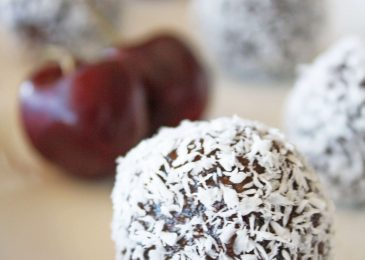 Chocolate Covered Cherry Truffles