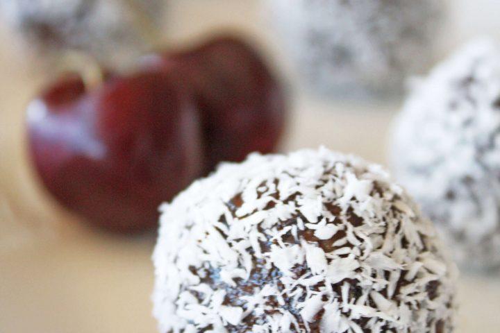 Chocolate Covered Cherry Truffles