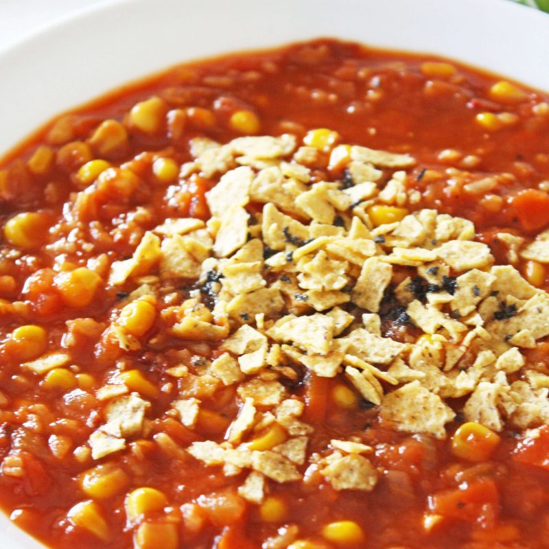 Kid Approved Tortilla Soup