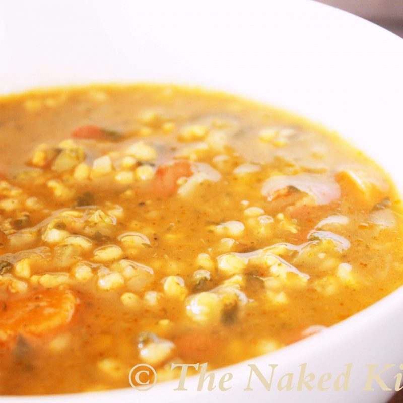 Tuscan Bean and Rice Soup