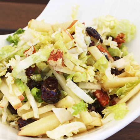 Throwback Thursday: Crunchy Apple and Cabbage Salad