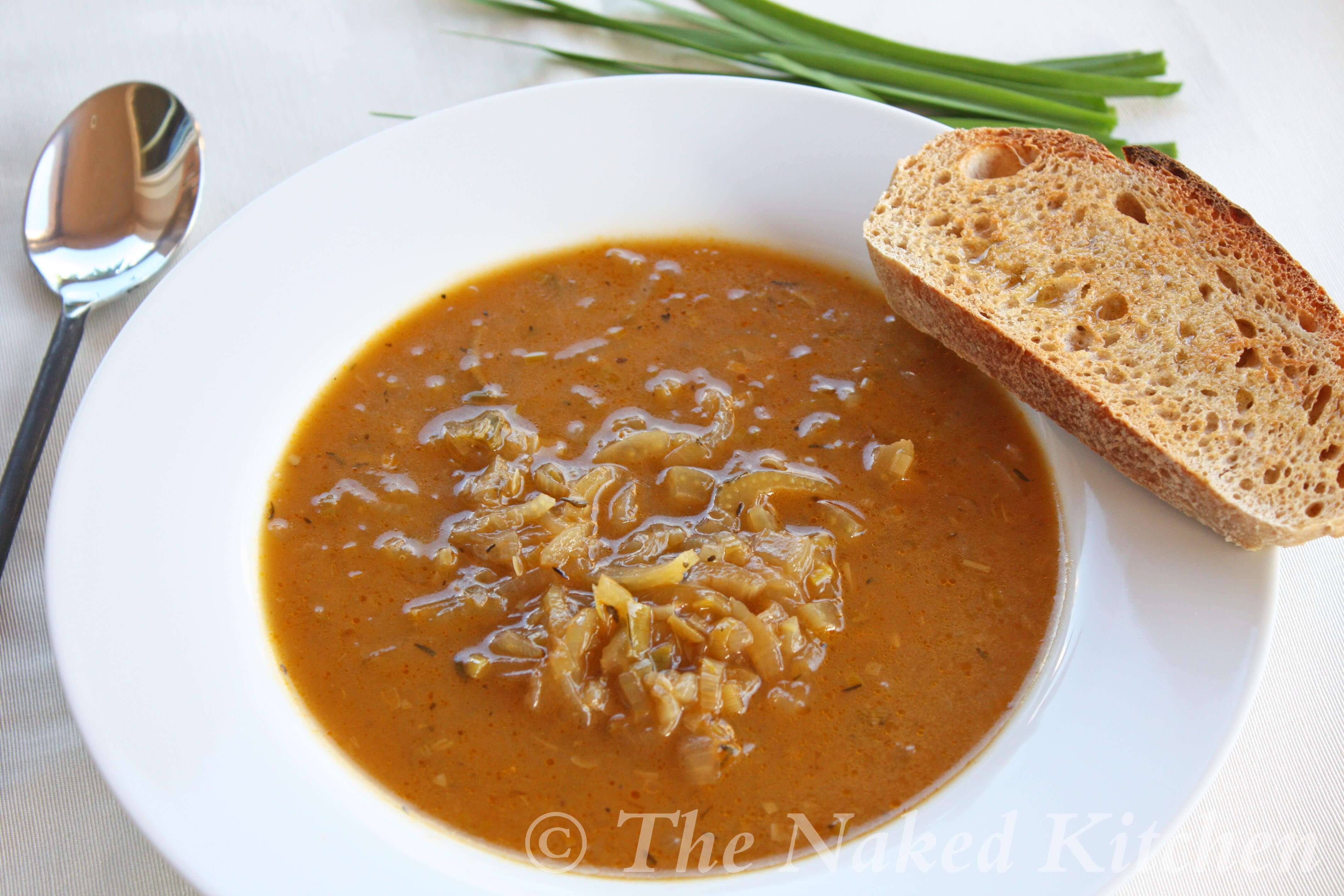 Onion and Green Garlic Soup