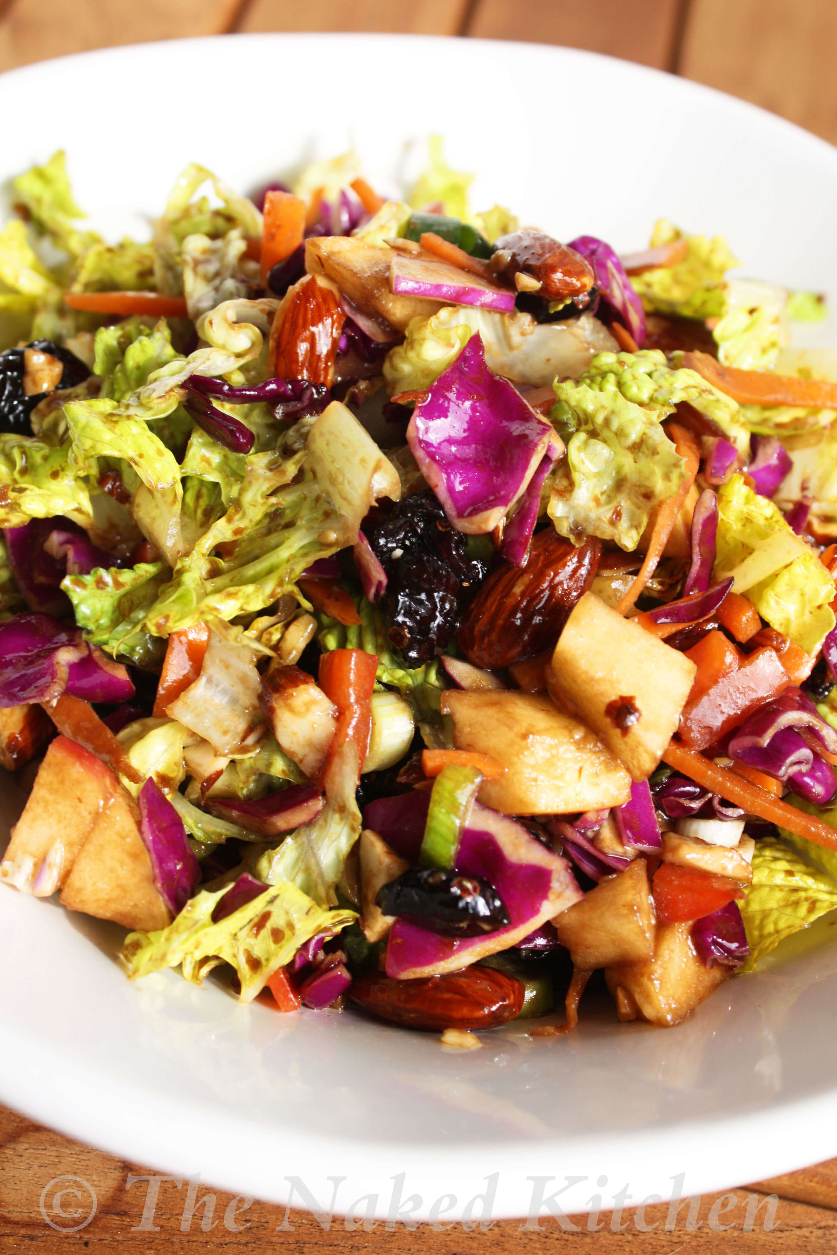 Sweet and Sassy Cabbage and Apple Salad