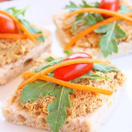 Toasted Almond and Pumpkin Seed Pate'