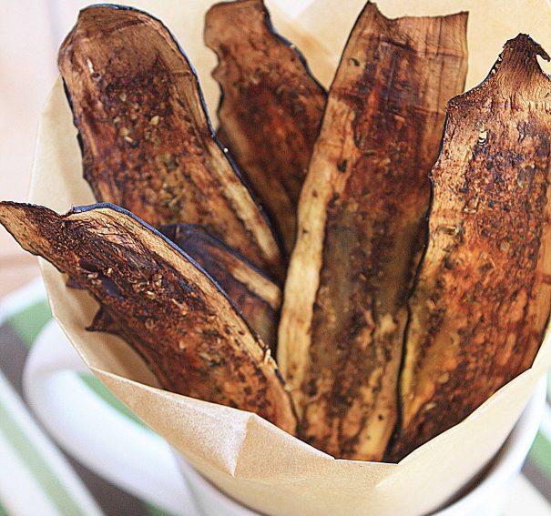 Eggplant Crisps