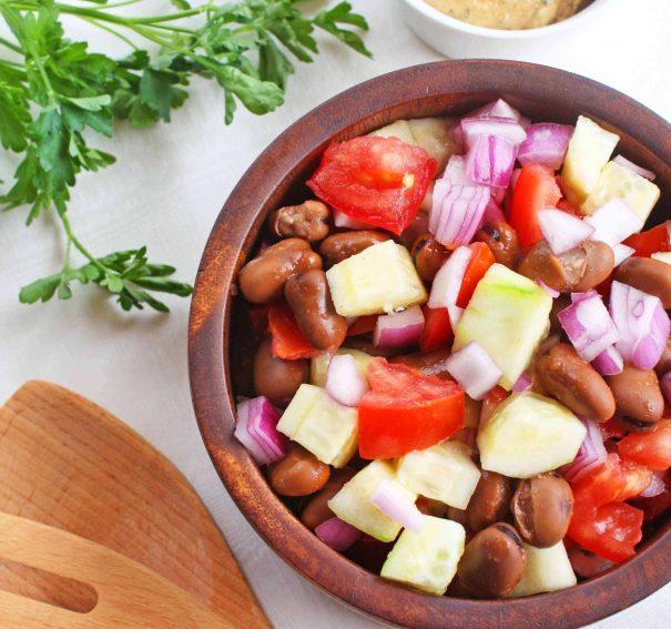 Fava-licious Salad