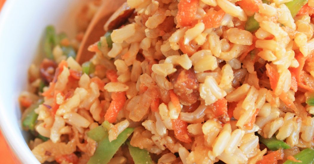 Lazy Fried Rice Salad