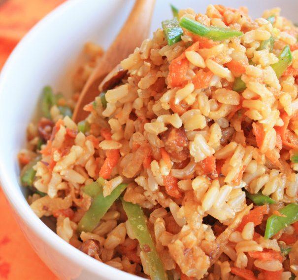 Lazy Fried Rice Salad
