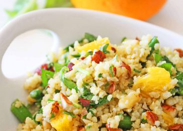 Millet with Arugula and Oranges