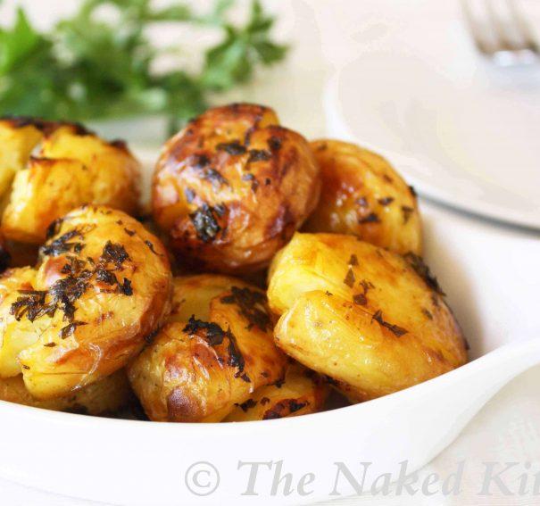 Parsleyed New Potatoes