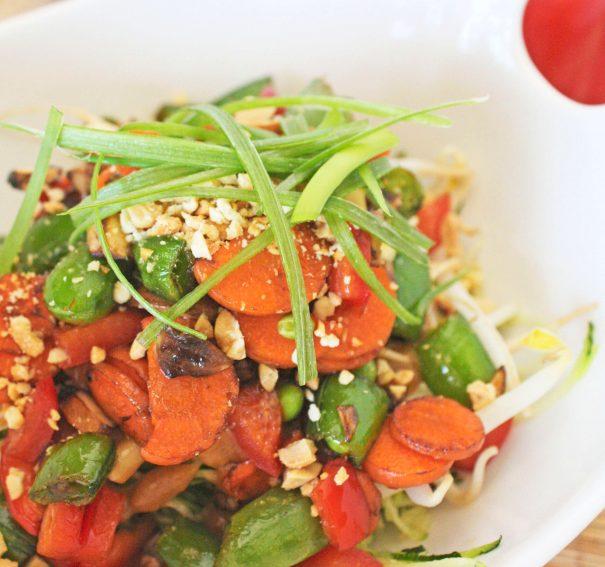 Rawlicious Pad Thai Salad
