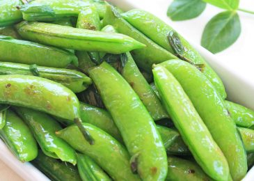 Seared Sugar Snap Peas