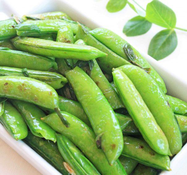 Seared Sugar Snap Peas