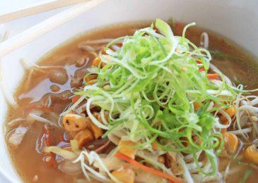 Soul Soothing Miso Ramen Soup