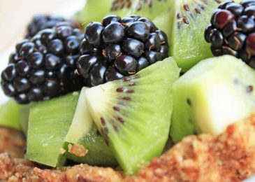Tasty Tuesday: Kiwi Blackberry Tart