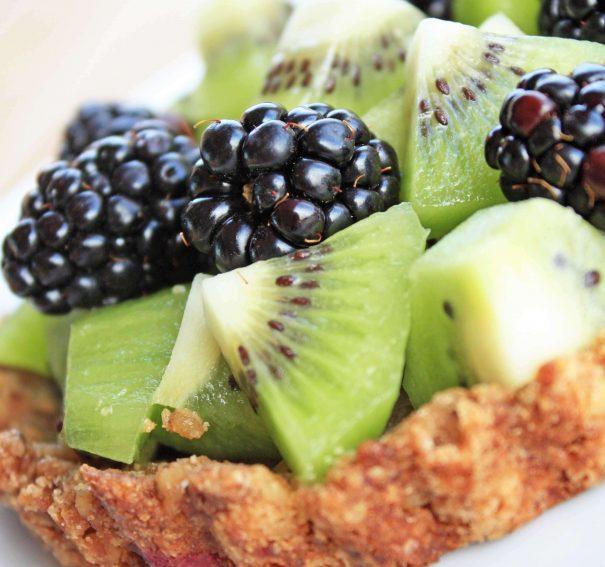 Tasty Tuesday: Kiwi Blackberry Tart