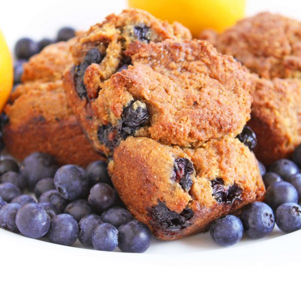 Lemon Blueberry Mini Loaves