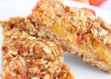 Oatmeal and Fruit Snack Bars